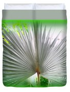 Tropical Fan Duvet Cover