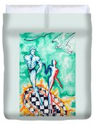 Tropical Fire - Passion And Fire Duvet Cover