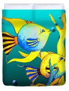 Tropical Fish Fun Duvet Cover