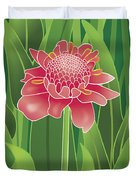 Tropical Flower Duvet Cover
