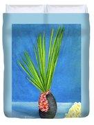 Tropical Flowers Still Life #218 Duvet Cover