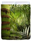 Tropical Forest Jungle Duvet Cover