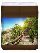 Tropical Garden Duvet Cover by MotHaiBaPhoto Prints