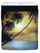 Tropical Grip Duvet Cover