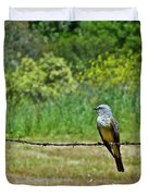 Tropical Kingbird Duvet Cover