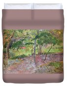 Tropical Landscape Duvet Cover