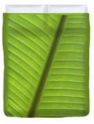 Tropical Leaf Detail Duvet Cover