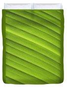Tropical Leaf Patterns Duvet Cover