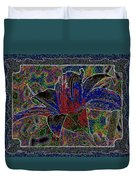Tropical Lily 5 Duvet Cover