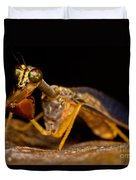 Tropical Mantispid Duvet Cover