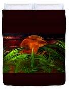 Tropical Moon Duvet Cover