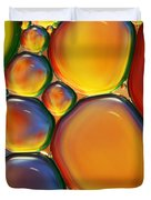 Tropical Oil And Water II Duvet Cover