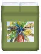 Tropical Palm Inn Duvet Cover