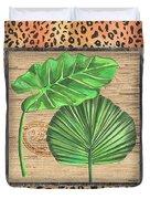 Tropical Palms 1 Duvet Cover