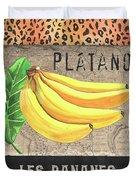 Tropical Palms 4 Duvet Cover