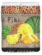 Tropical Palms 5 Duvet Cover