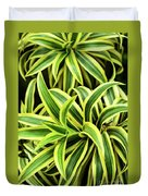 Tropical Plant Duvet Cover