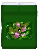 Tropical Plant Work Number 5 Duvet Cover