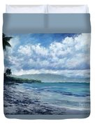 Tropical Rain Duvet Cover