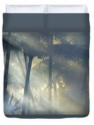 Tropical Rays Duvet Cover