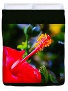 Tropical Splendor Duvet Cover