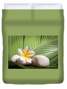 Tropical Still Life Duvet Cover