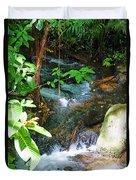 Tropical Stream Duvet Cover