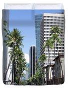 Tropical Street Duvet Cover