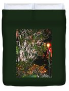 Tropical Streetlight Duvet Cover
