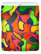 Tropical Sunbathers Duvet Cover
