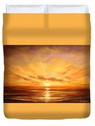 Tropical Sunset 75 Duvet Cover