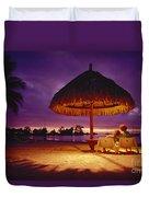 Tropical Tahitian View Duvet Cover