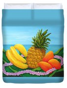 Tropical Trinity Duvet Cover