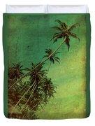 Tropical Vestige Duvet Cover by Andrew Paranavitana
