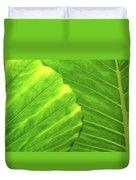 Tropical Vibrant Green Duvet Cover