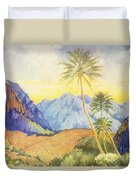 Tropical Vintage Hawaii Duvet Cover