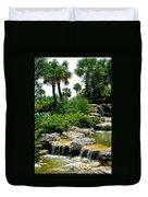 Tropical Water Falls Duvet Cover