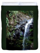 Tropical Waterfall Duvet Cover