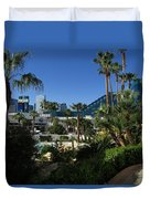 Tropicana And The M G M Grand, Las Vegas Duvet Cover