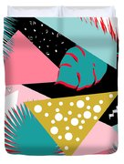 Tropics Colors  Duvet Cover