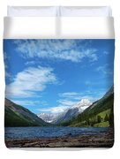 Trout Lake Duvet Cover