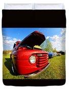 Truck Headlight Duvet Cover