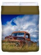 Truck Heaven Duvet Cover