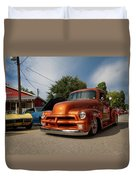 Trucking With Style Duvet Cover