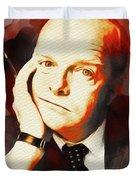 Truman Capote, Literary Legend Duvet Cover