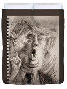 Trump A Dengerous A-hole Duvet Cover