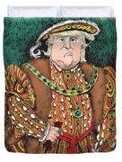 Trump As King Henry Viii Duvet Cover