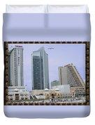 Trump Palace Tajmahal Hotel Atalantic Beaches And Board Walk America Photography By Navinjoshi At  Duvet Cover
