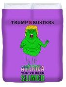 Trump Slimes America Duvet Cover