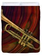 Trumpet 2 Duvet Cover
